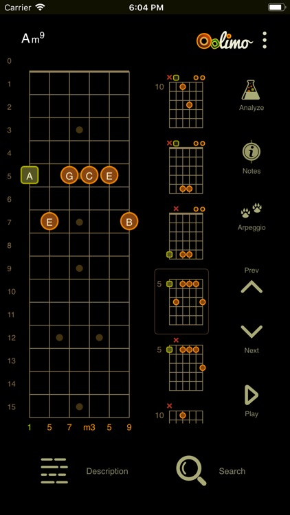 Oolimo Guitar Chords screenshot-2
