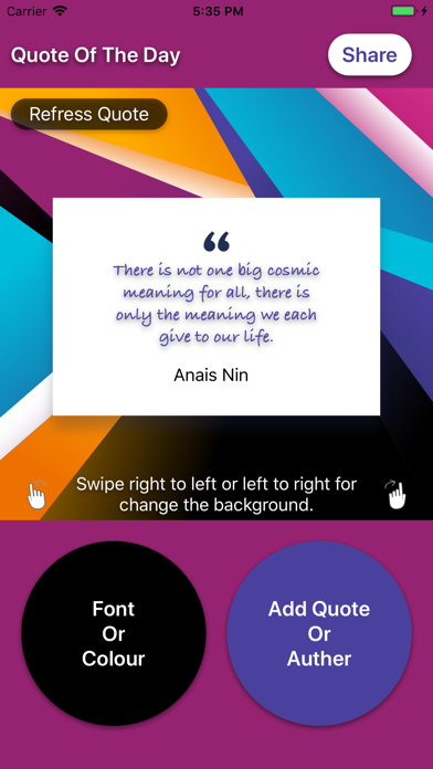Colourful Quote Apps