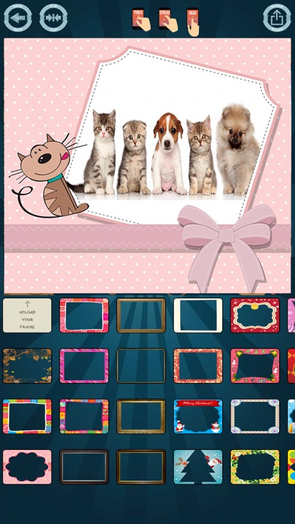 Frames edit and create cards