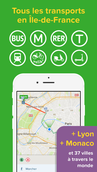 Screenshot #1 pour Citymapper