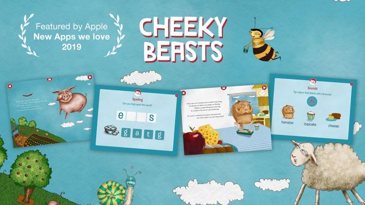 Cheeky Beasts - Funny Stories screenshot-0