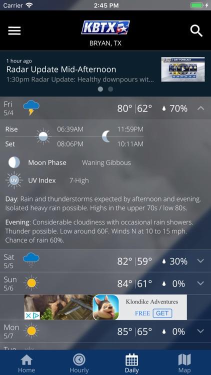 KBTX PinPoint Weather screenshot-4
