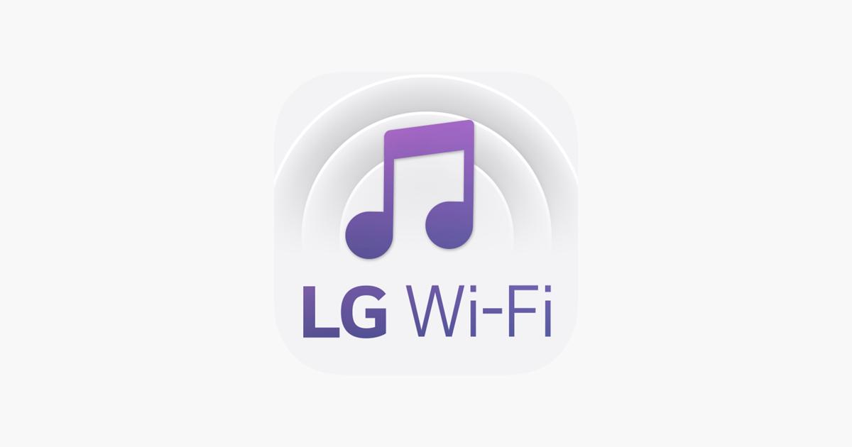 LG Wi-Fi Speaker on the App Store
