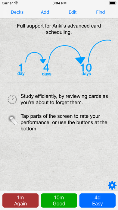 Ankimobile Flashcards review screenshots