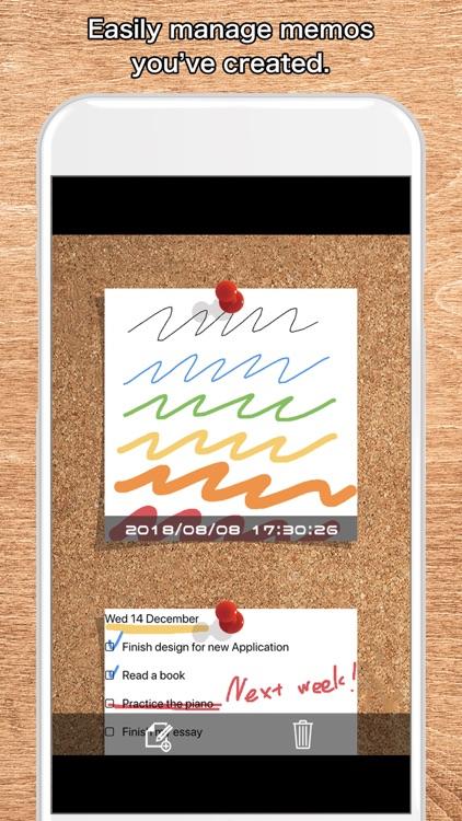 Quick Board - Simple Memo Pad screenshot-3