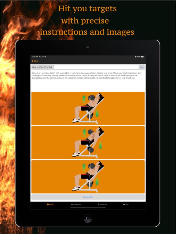 Muscle Gainer Full body plan screenshot 7