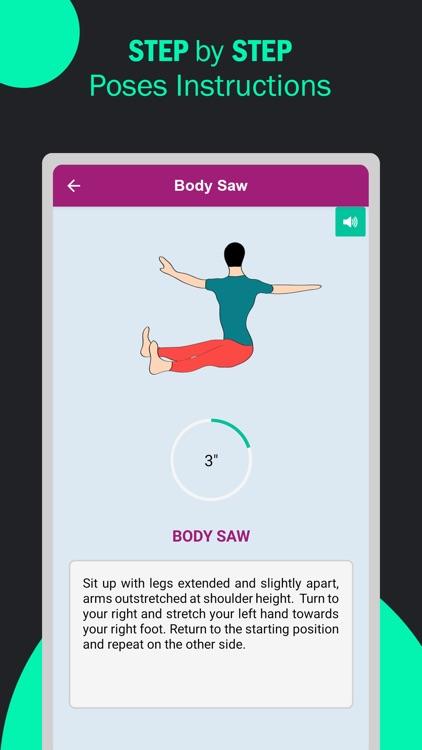 Pilates Yoga Fitness Workouts screenshot-3