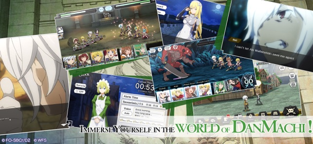 DanMachi - MEMORIA FREESE on the App Store