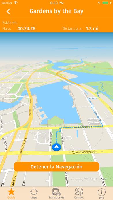 Singapur Mapa y Guía de ViajeCaptura de pantalla de2