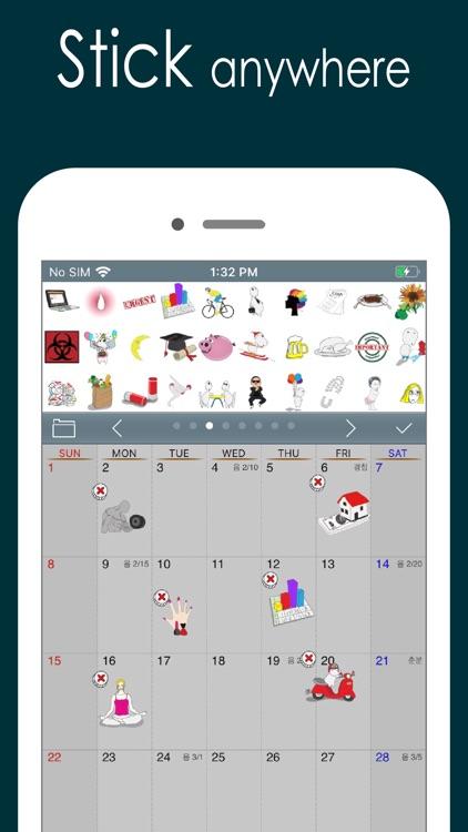 Awesome Calendar Lite screenshot-9