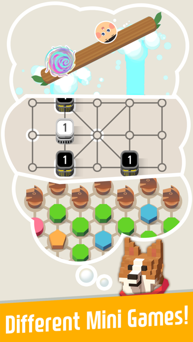 Animal house : with Puzzles screenshot 1