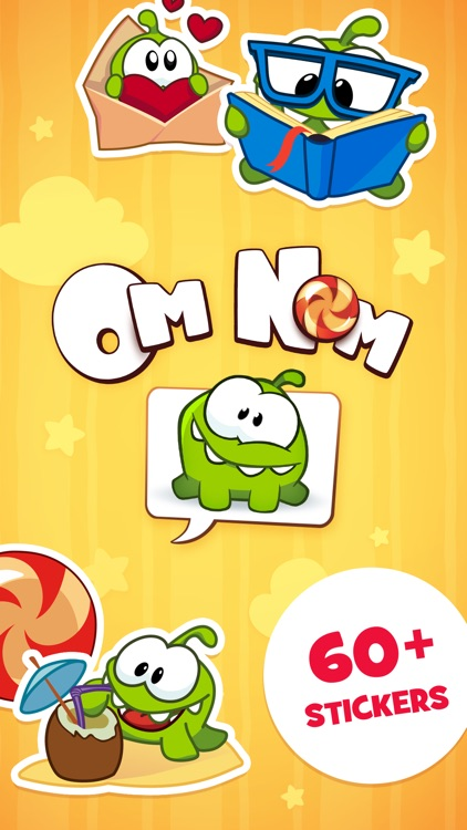 Om Nom Stickers screenshot-0