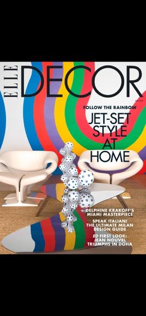 Elle Decor Magazine Us On The App Store