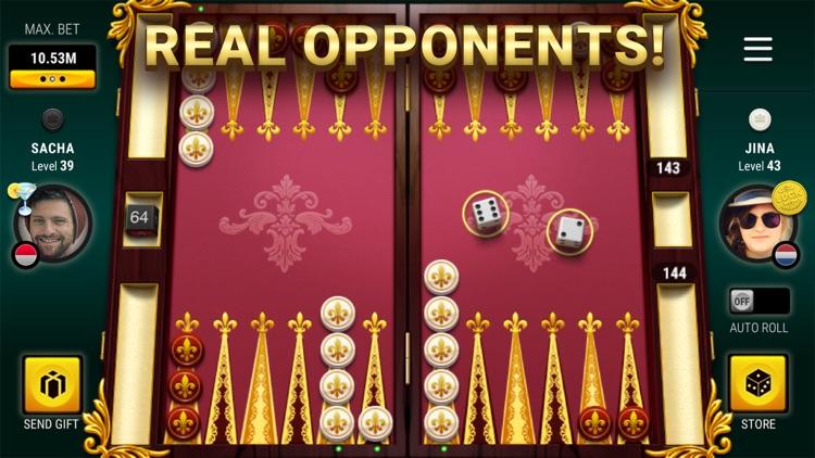Backgammon Live™ Board Game