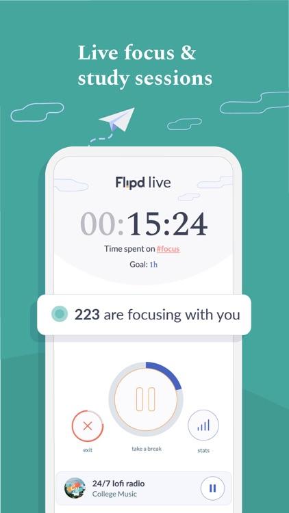 Flipd: Focus & Productivity