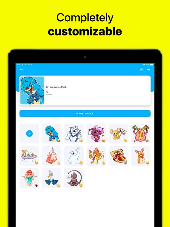 StickerHub - Sticker Maker screenshot 17
