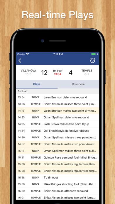Scores App: College Basketball screenshot two
