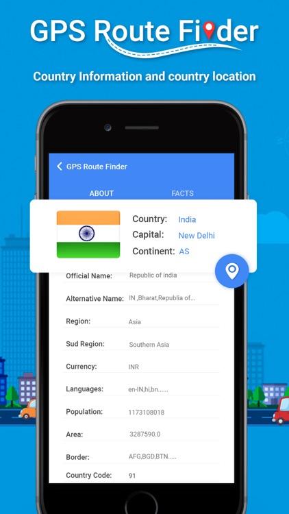 GPS Route Finder ! screenshot-5