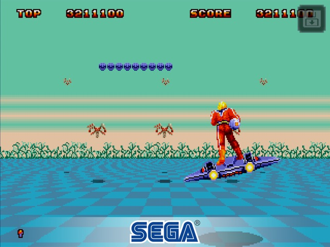 Space Harrier II Classic on the App Store