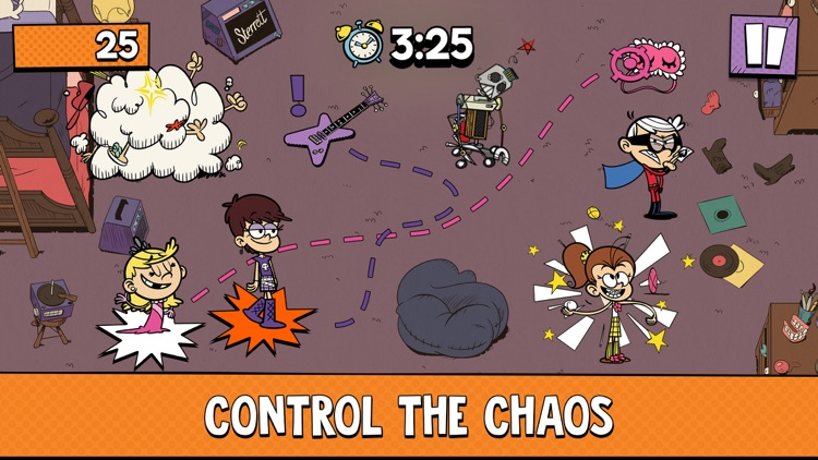 Loud House: Outta Control screenshot-4