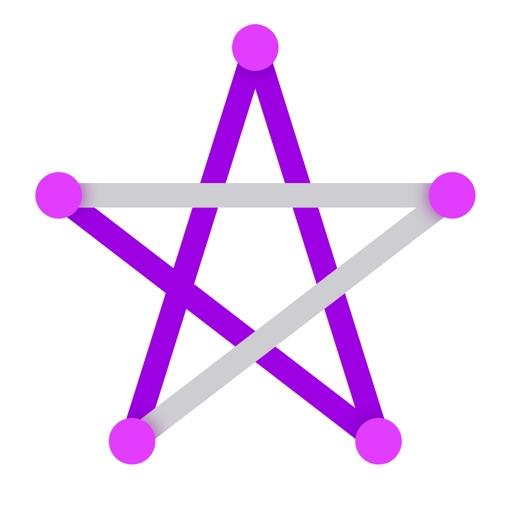 Головоломка – точки и линия