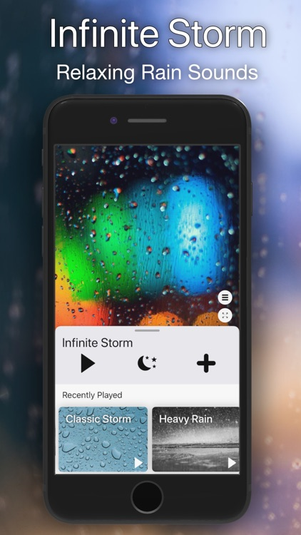 Infinite Storm: Rain Sounds screenshot-0