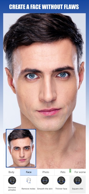 Retouch Men: Abs & Body Editor on the App Store