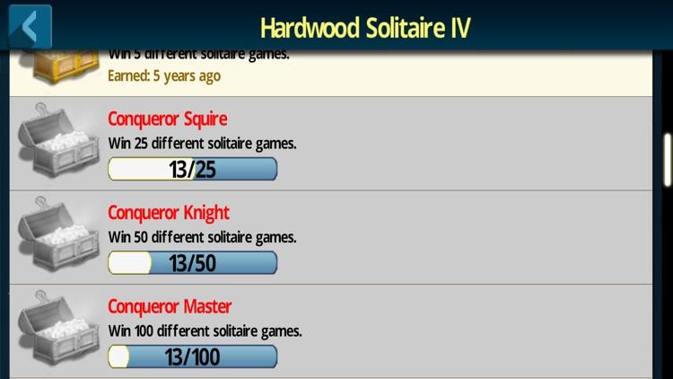 Hardwood Solitaire IV Pro screenshot-4
