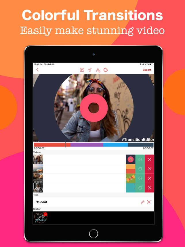 Video Transition Effects Maker on the App Store