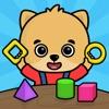 2歳以上の子供向け数字のお勉強ゲーム・幼児向け動物知育パズル - iPhoneアプリ