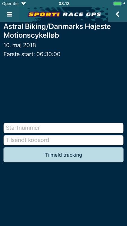 SPORTI Race GPS screenshot-6