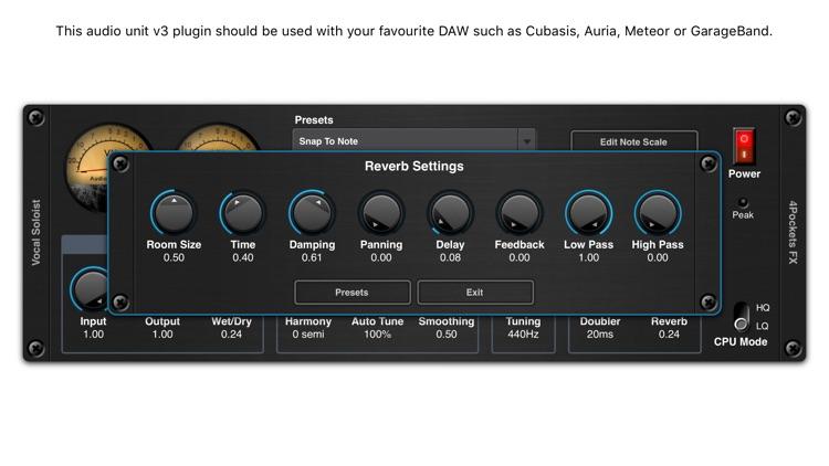 Vocal Soloist AUv3 Plugin screenshot-3