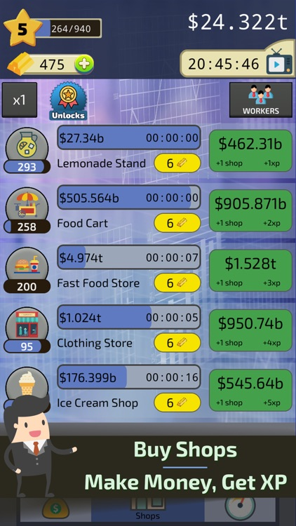 Clicker Business Tycoon