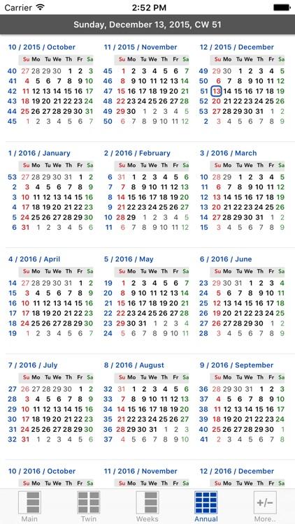 Flowing Calendar PRO screenshot-3
