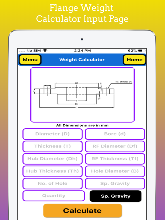 Fabrication Weight Calc Pro screenshot 19