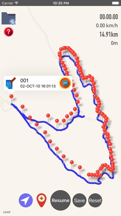 GPX Viewer-Converter-Tracking screenshot-4