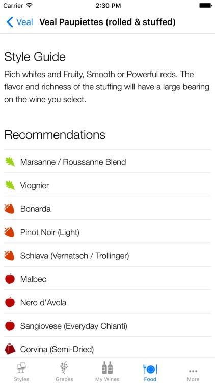 Pocket Wine Pairing screenshot-4