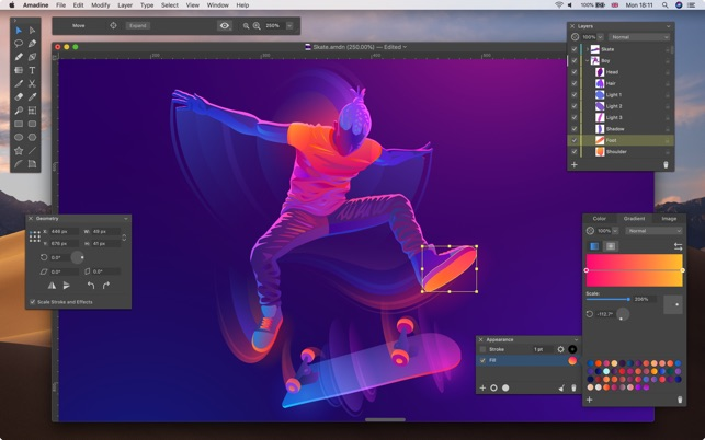 Amadine - Vector Graphics App Screenshot