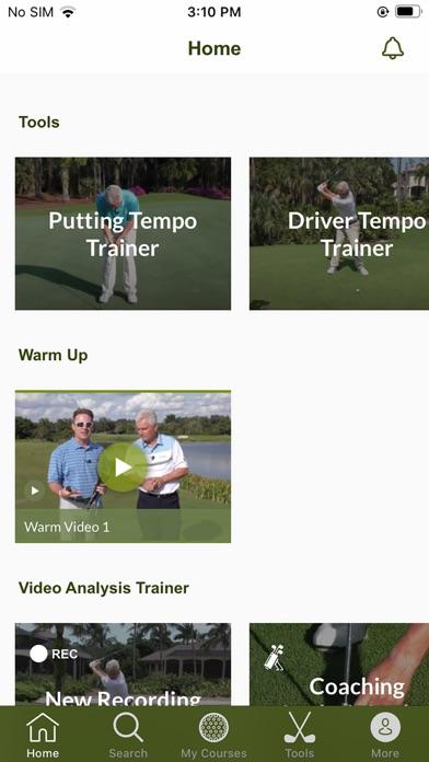 Scratch Golf Academy screenshot 1