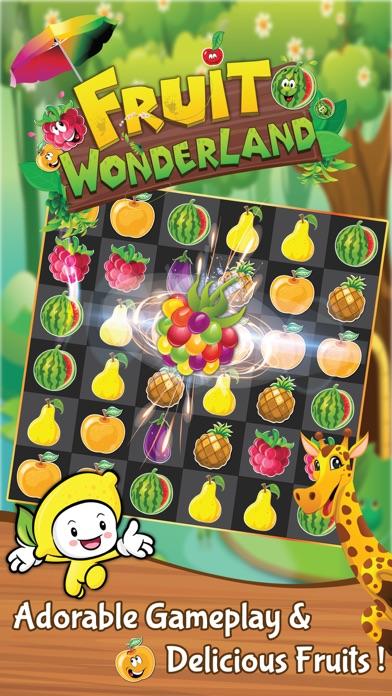 Fruit Wonderland: Match 3 Game screenshot one