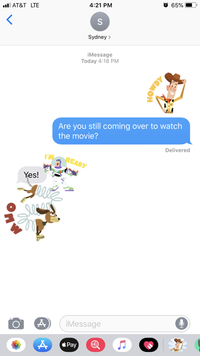 Pixar Stickers: Toy Story 4 screenshot 3