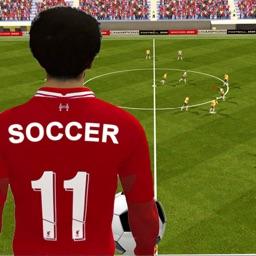 Soccer Kick Champion Football