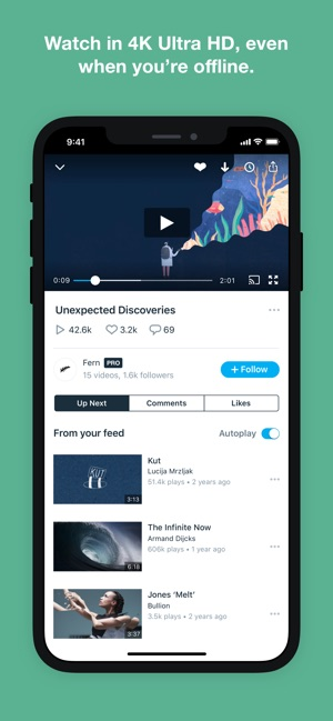 vimeo video download iphone app