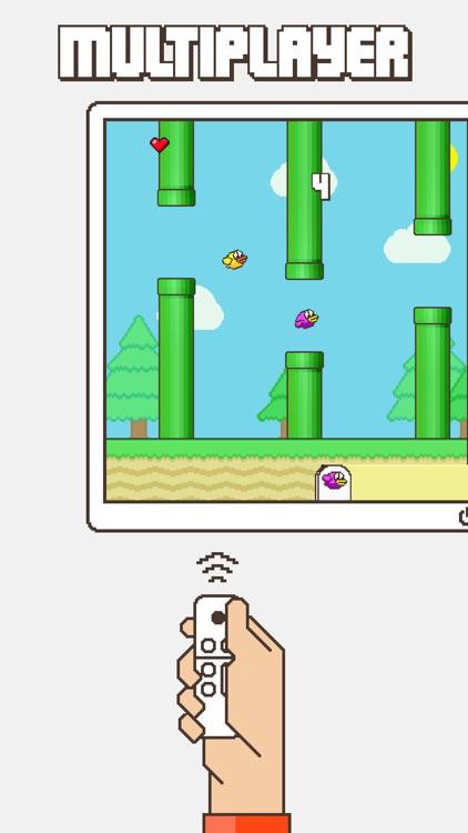 Flappy Family Bird Arcade screenshot-5