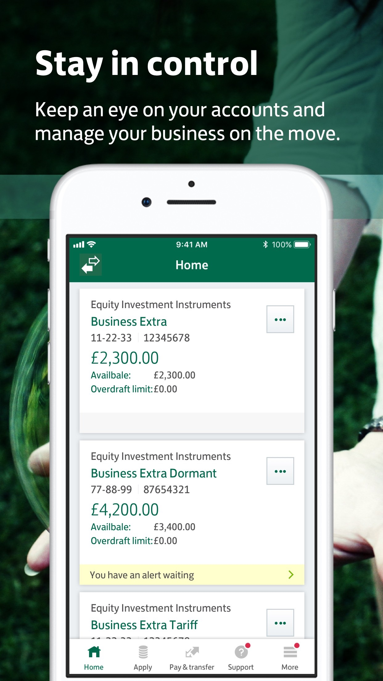 Lloyds Bank Business Screenshot