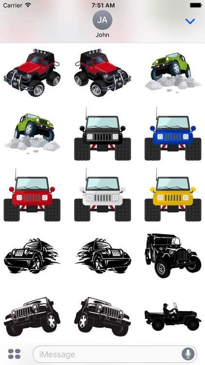 Its a Jeep Thing Sticker Pack screenshot-5