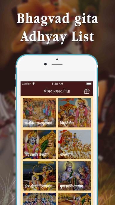 Full Bhagavad Gita MP3 screenshot four