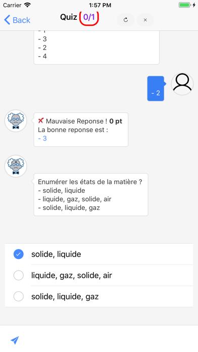 Chimie 4ème screenshot 3