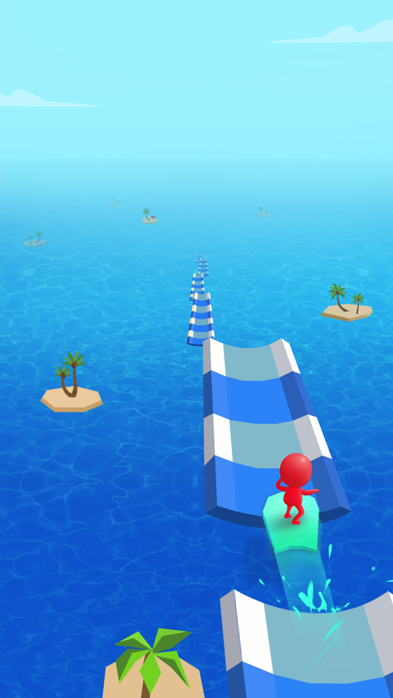 Water Race 3D: Aqua Music Game App for iPhone - Free Download Water Race 3D: Aqua Music Game for
