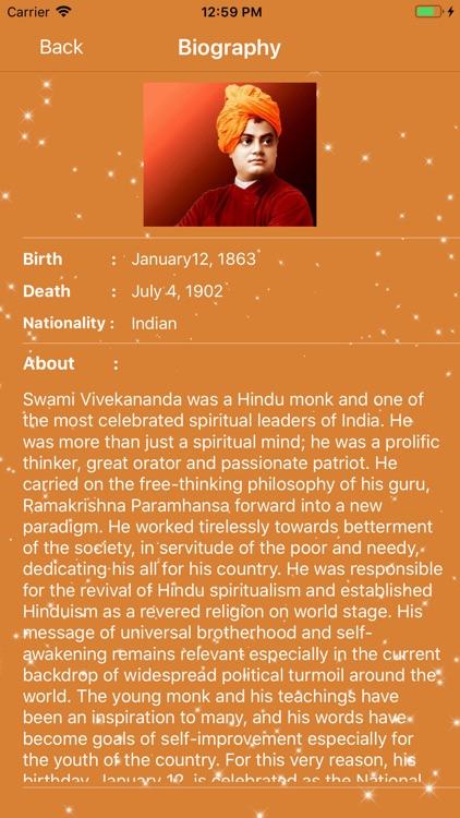 Swami Vivekananda Quotes App screenshot-2